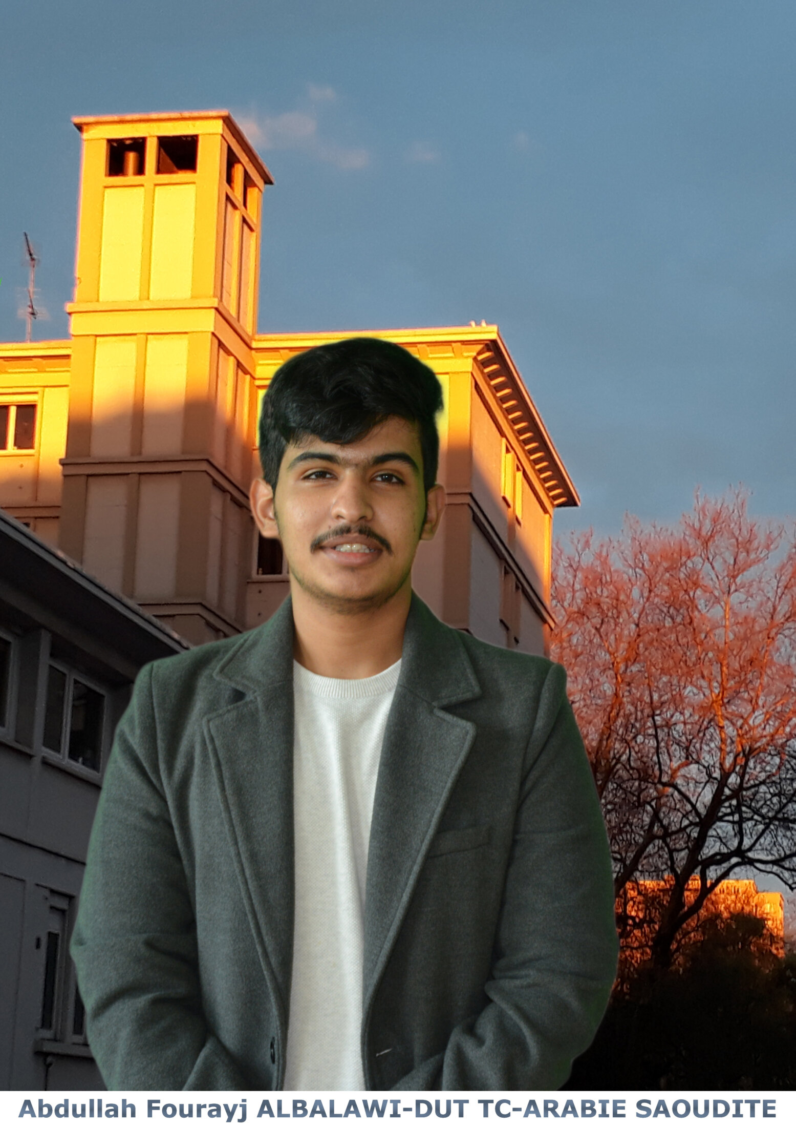 Abdullah Fourayj ALBALAWI - DUT TC - ARABIE SAOUDITE