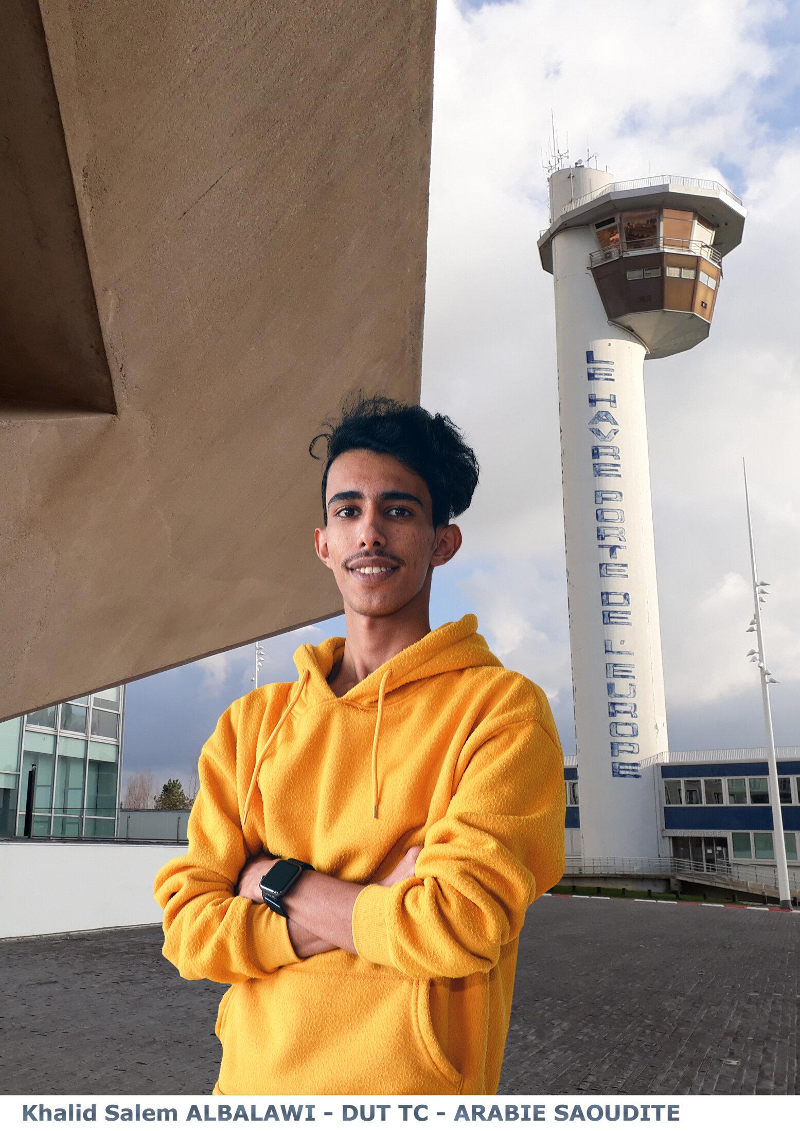 Khalid Salem ALBALAWI - DUT TC - ARABIE SAOUDITE